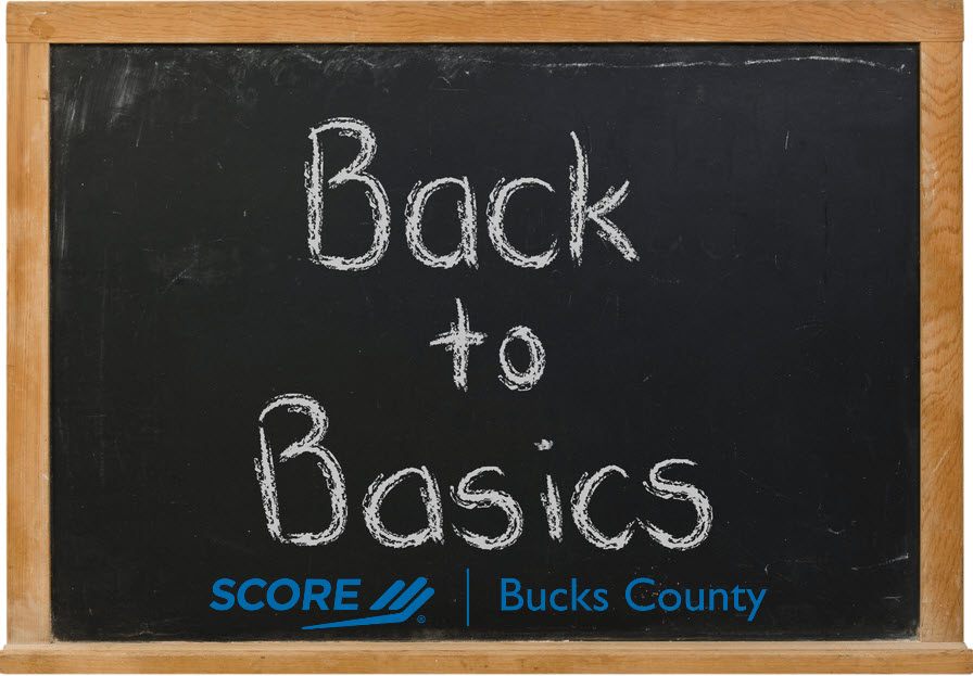 Back to Basics - Understanding SCORE, Our Partners, and Resources