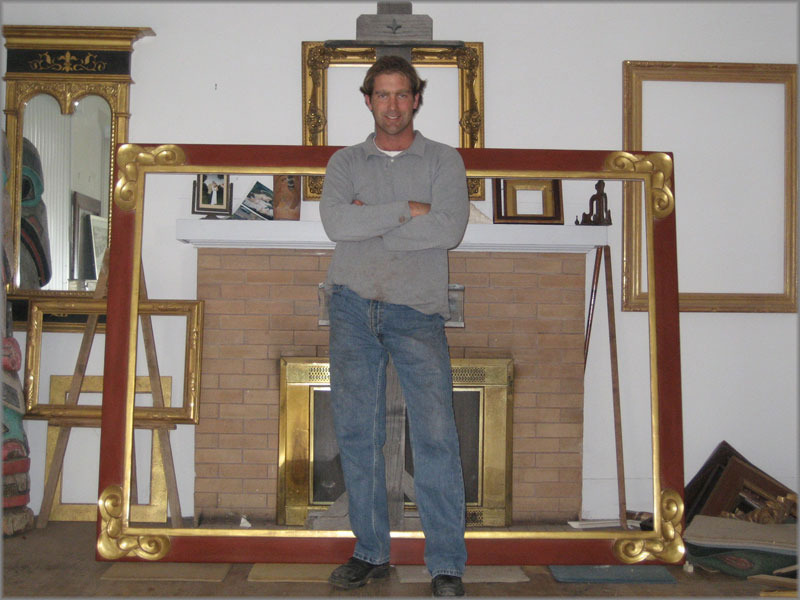 Bailey's Handcrafted Fine Art Framing and Gold Leaf Services