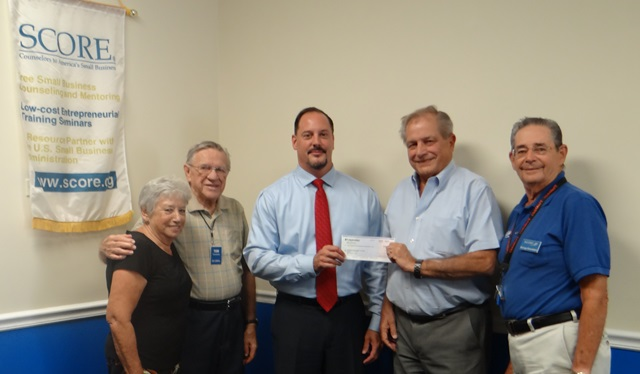 BankUnited Presents SCORE Treasure Coast With a Grant