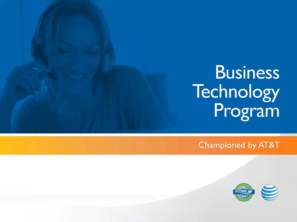 Business Technology Program Webinar image