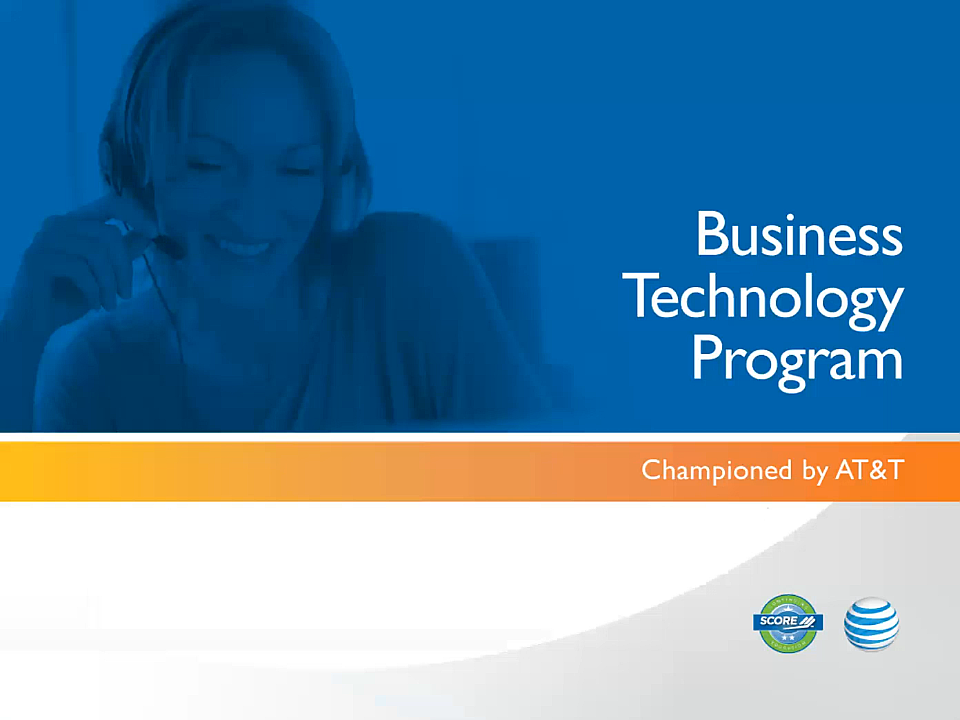 Current Technology for Small Business webinar