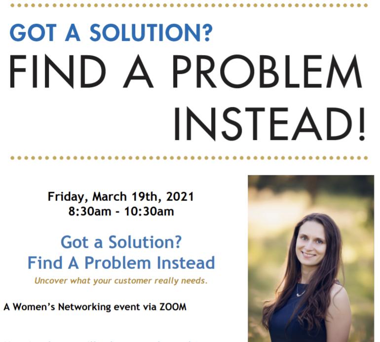 Women's Networking Breakfast: Local Small Business Sponsor - C0140