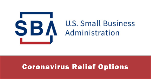SBA - Corona virus relief options