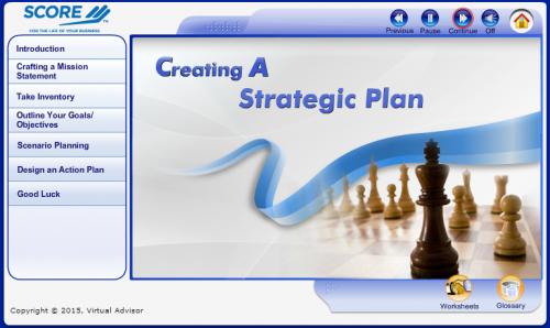Creating a Strategic Plan