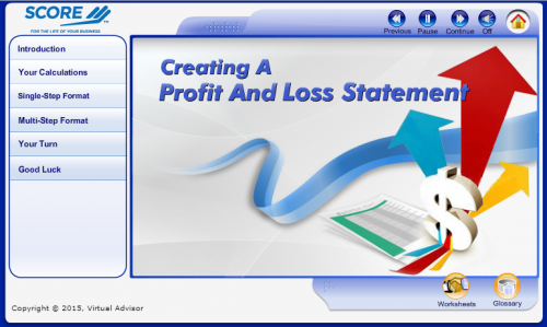 Creating A Profit And Loss Statement  How Do I Make A Profit And Loss Statement
