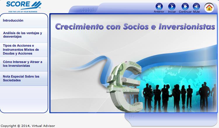 Crecimiento Con Socios e Inversionistas
