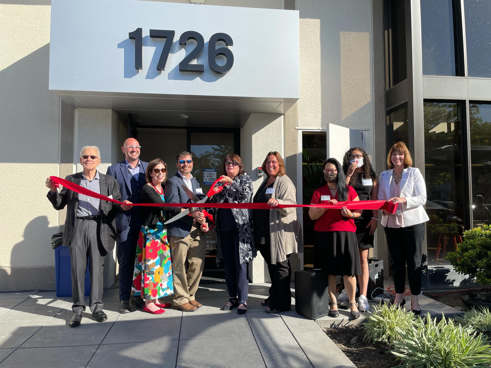 San Mateo Business Assistance Center Ribbon Cutting Ceremony