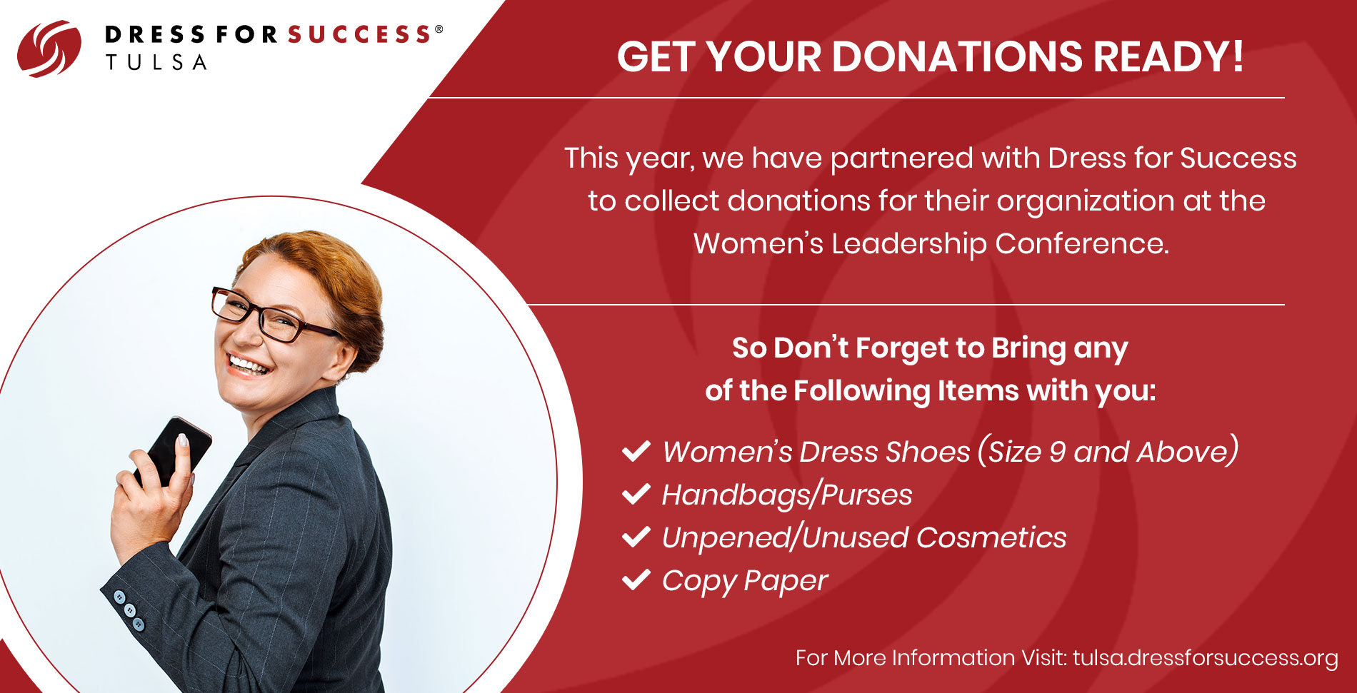 Dress for Success Donations Needed