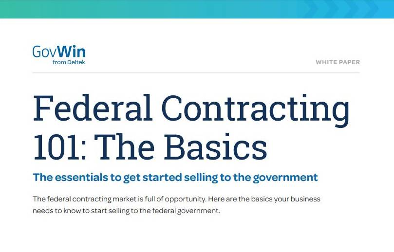 Federal Contracting 101
