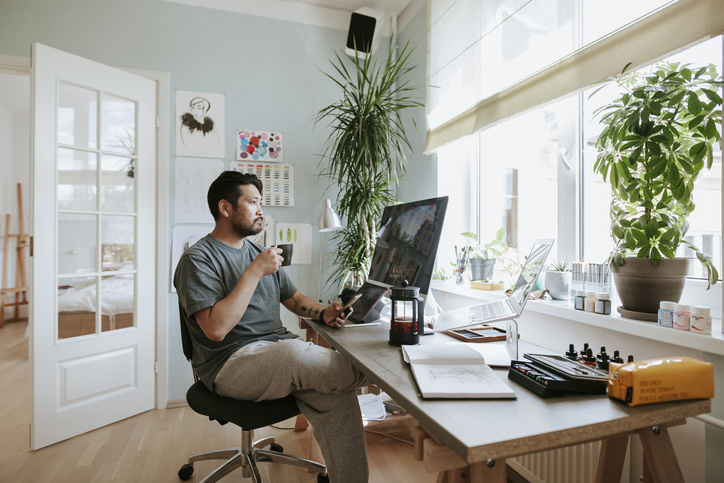 Home-based business ownership