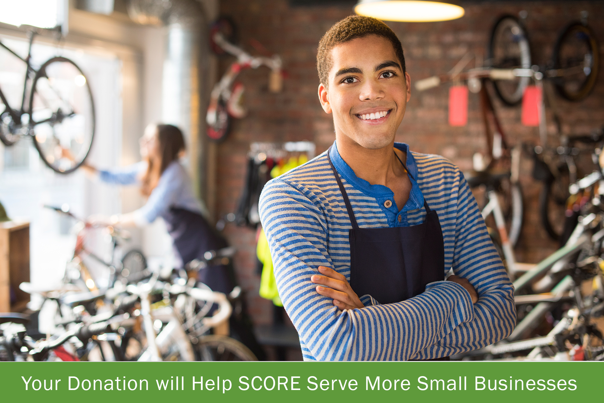 Help SCORE serve more small businesses