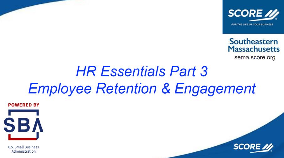 HR Essentials Part 3