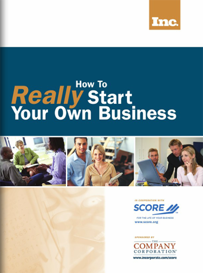 How to Really Start Your Own Business eBook