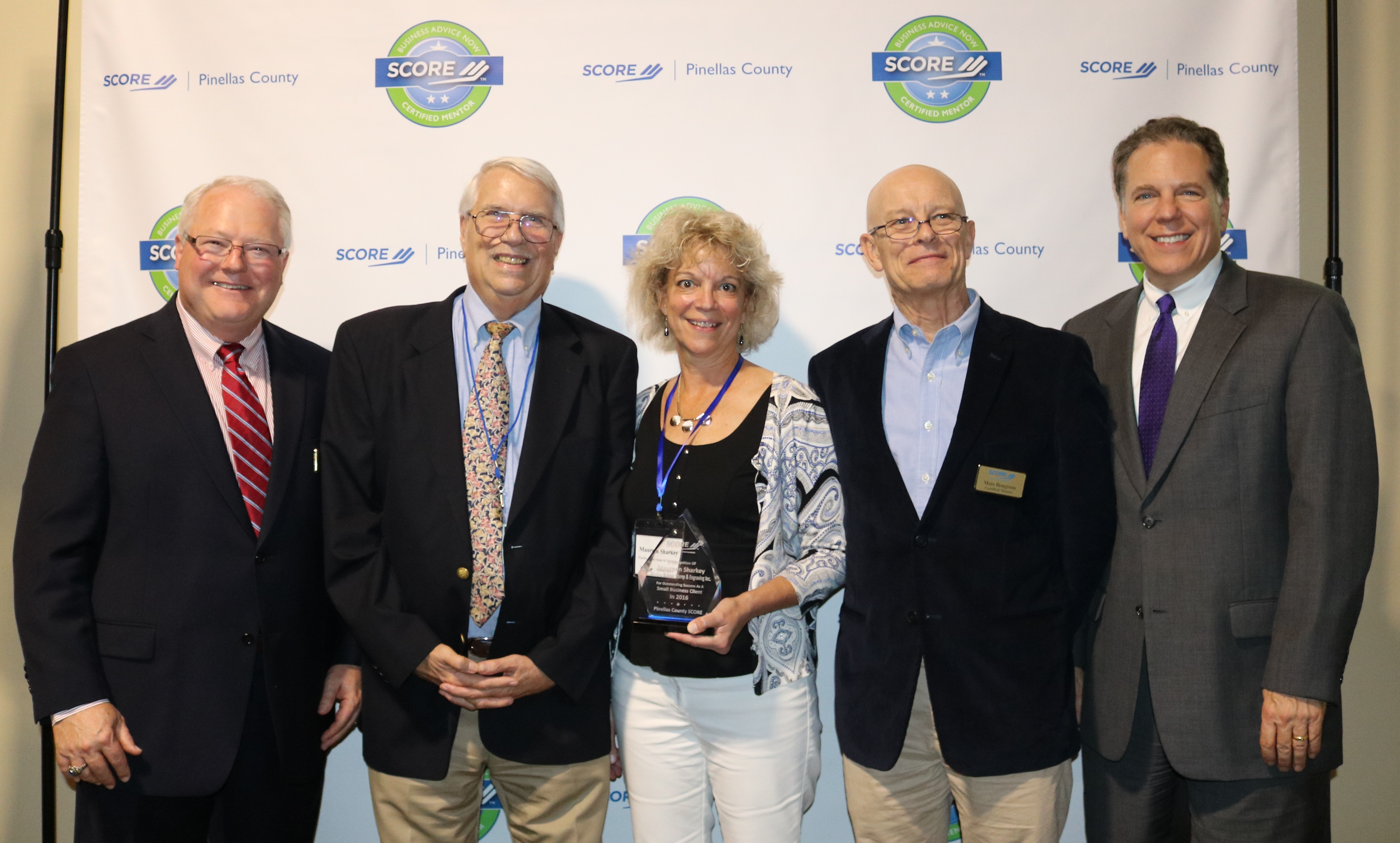 Pinellas Rubber Stamp and Engraving Recognition Award