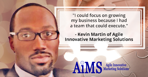 Kevin Martin of Agile Innovative Marketing Solutions