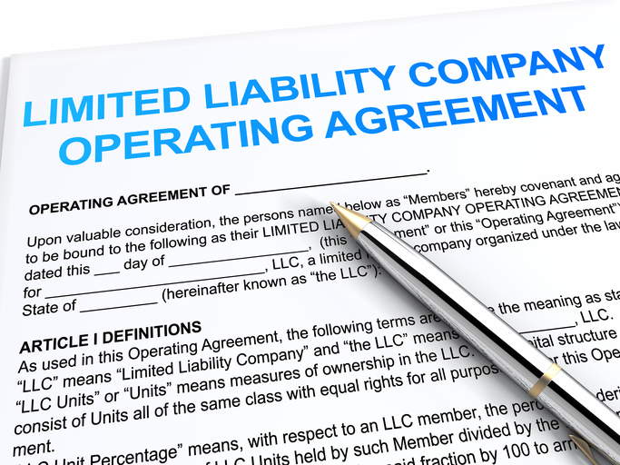 limited liability operating agreement