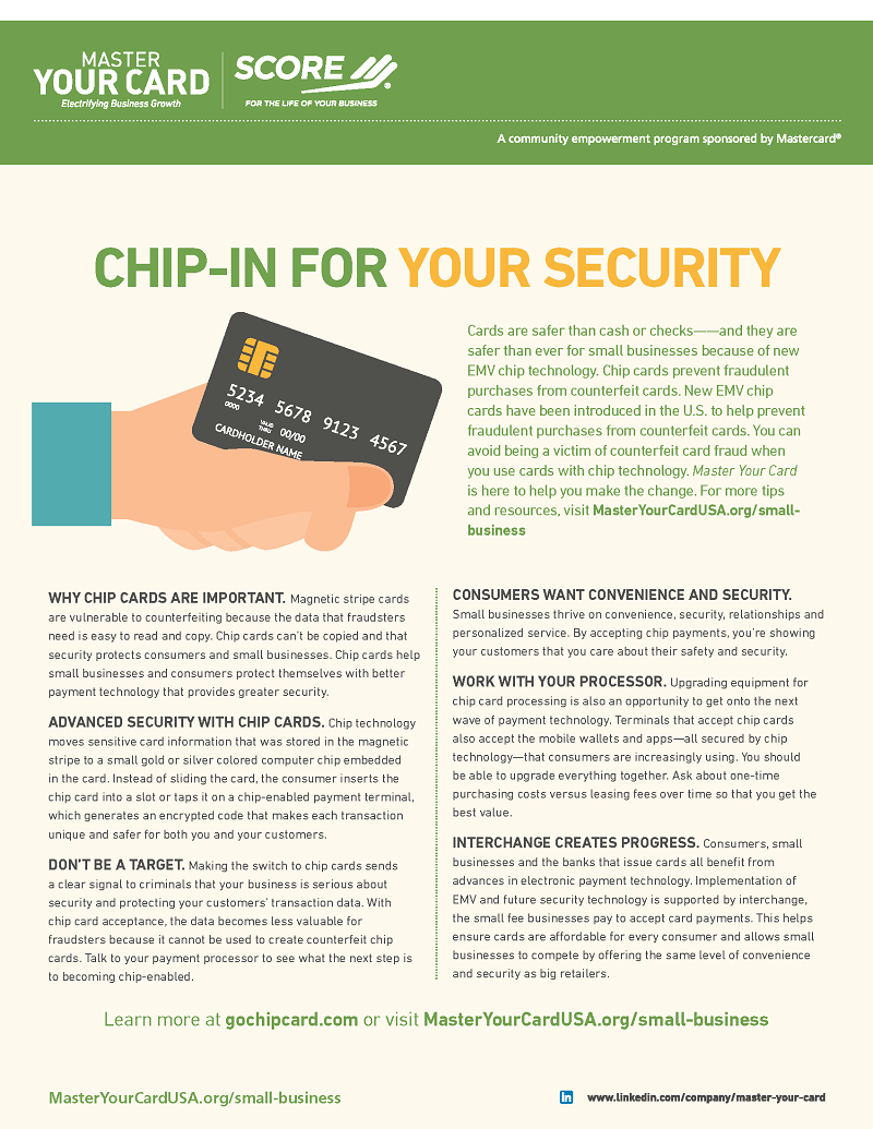 Chip-in For Your Security