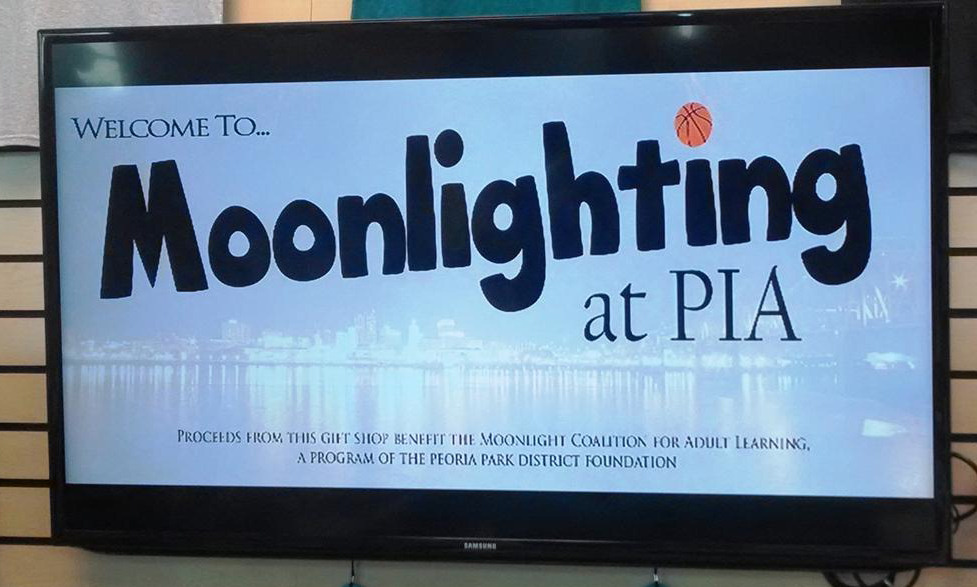 Moonlighting at PIA