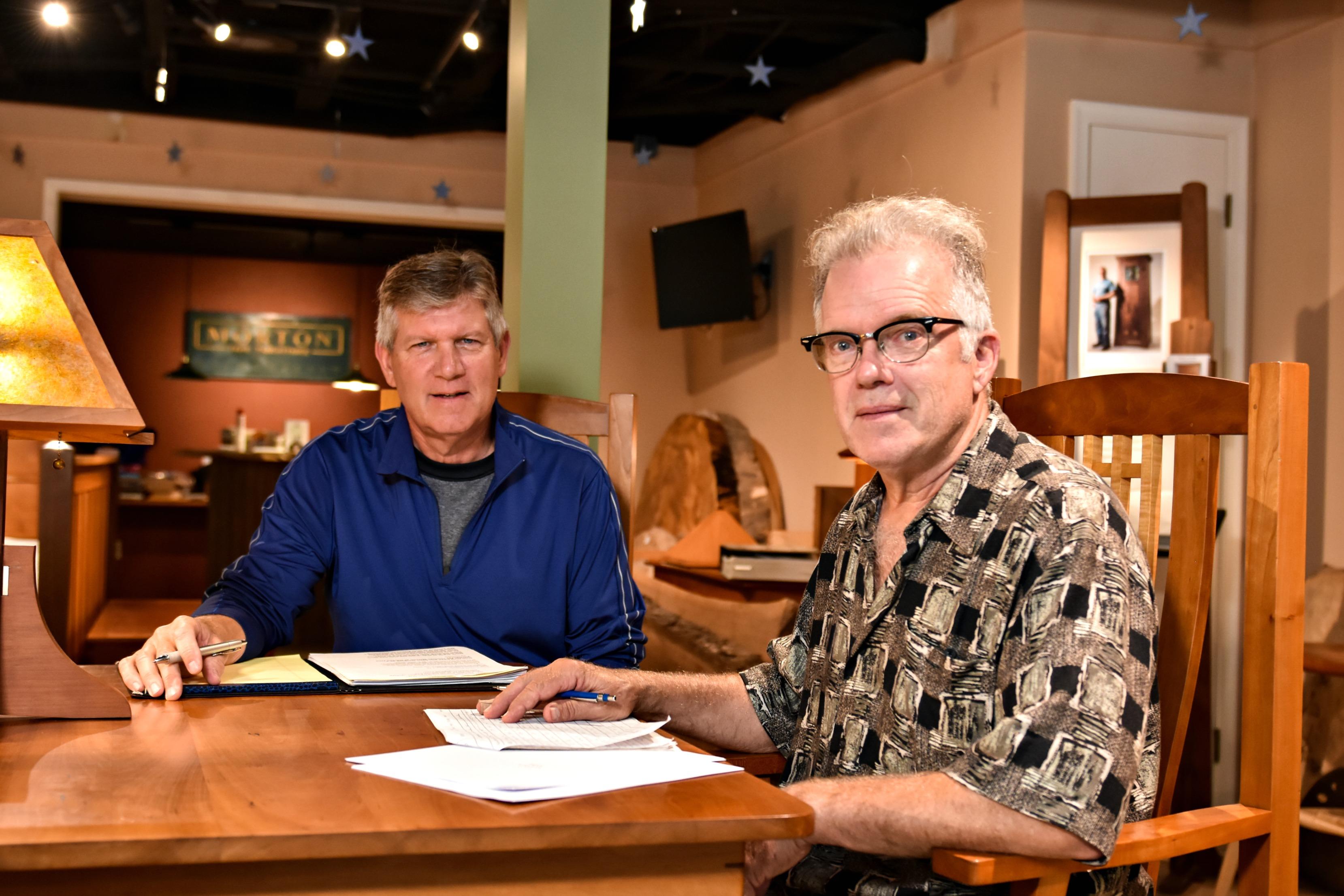 Thomas Morton with Jeff Eberts