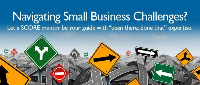 "Navigating Small Business Challenges? Let a SCORE mentor be your guide with ""been there, done that"" expertise."