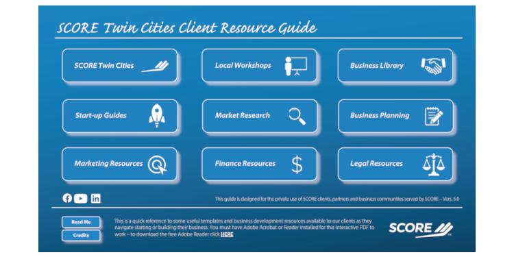 Client Resource Guide First Page