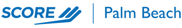 Palm Beach SCORE - CONTACT BUSINESS LOGO + LINK - SYB-74 with Host Penny Pompei