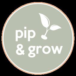 Pip & Grow logo