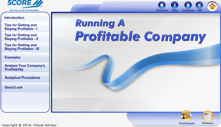 Running a Profitable Company