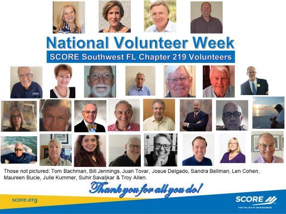 National Volunteer Week!