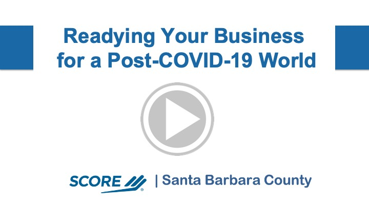Readying Your Business for a post-COVID19 World