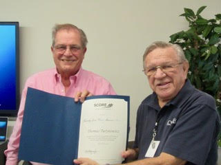 Treasure Coast SCORE Recognizes 25-year Volunteer!