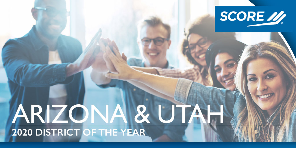 Arizona and Utah Outstanding District of the Year Award 2020