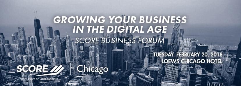 Chicago SCORE 2018 Business Forum