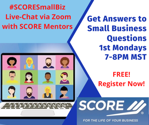 Live Chat with SCORE Mentors