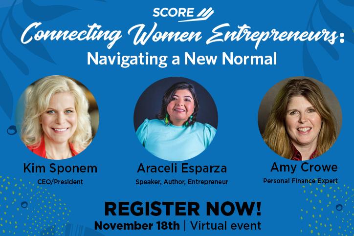 Connecting Women Entrepreneurs: Navigating a New Normal