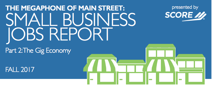 The megaphone of main street: Small business jobs report