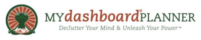 MYdashboardPLANNER - DeclutterYour Mind & Unleash Your Power