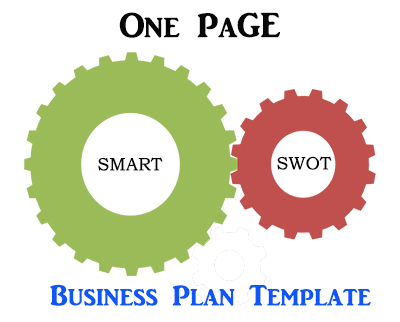 One page business plan template score key topics business plans startup strategies flashek Gallery