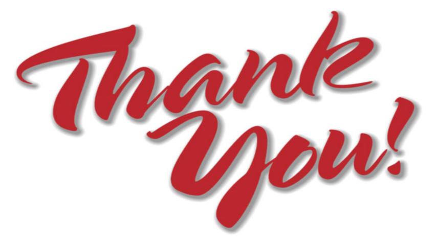 Thank you affiliates
