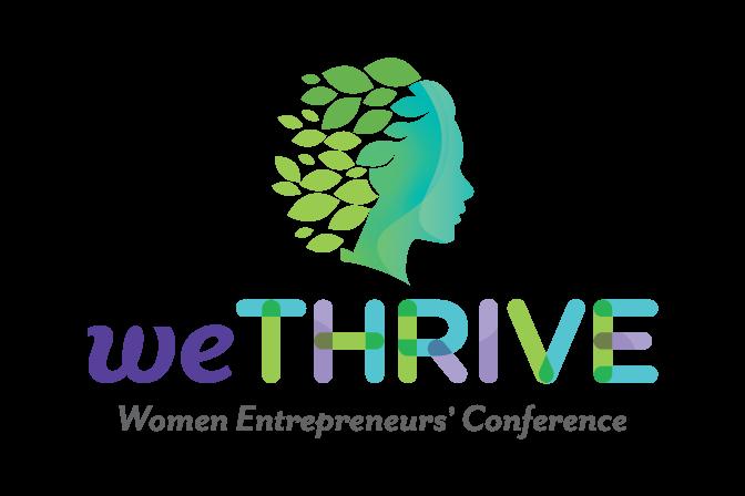 Logo of weTHRIVE Women Entrepreneurs' Conference