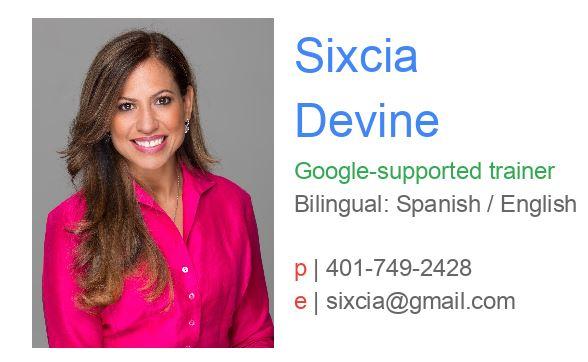 Google Training Presenter