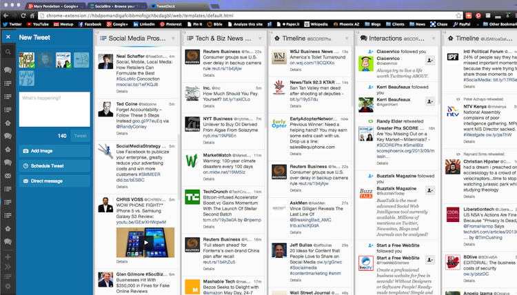 How to Survive Twitter: Manage it with TweetDeck