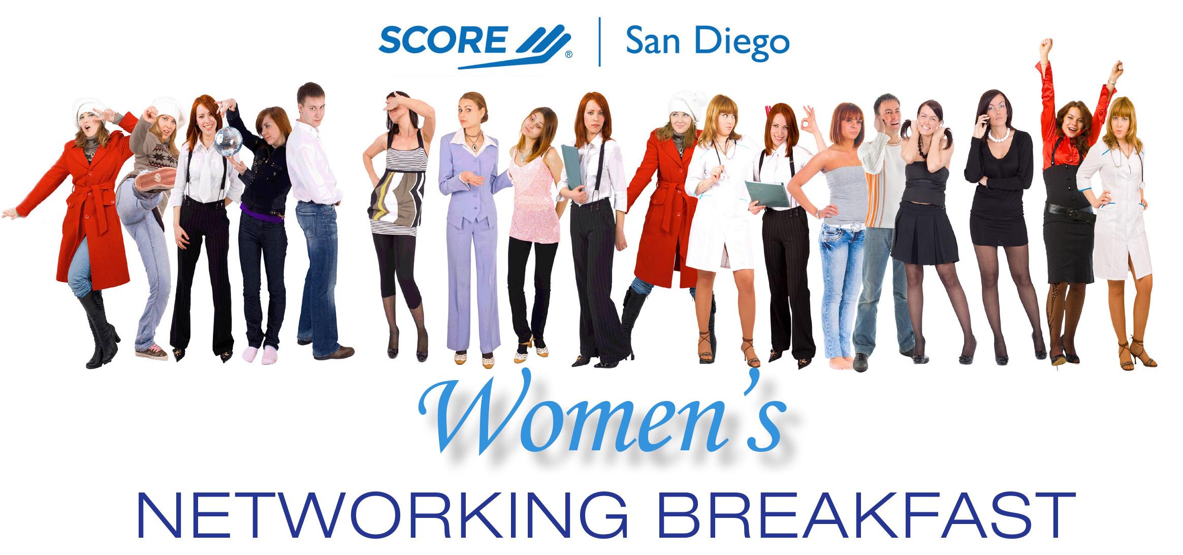 SCORE San Diego Women's Networking