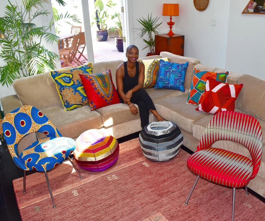 Amba - African print home décor items and accessories