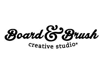 Board and Brush Tulsa Logo