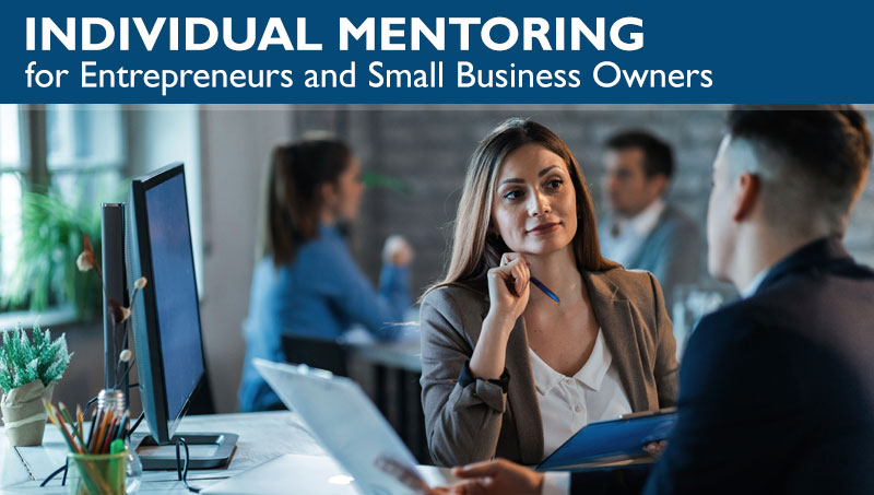 Individual Mentoring for Entrepreneurs and Small Business Owners