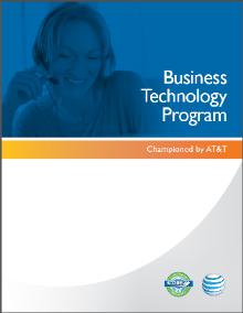 Business Technology Program booklet