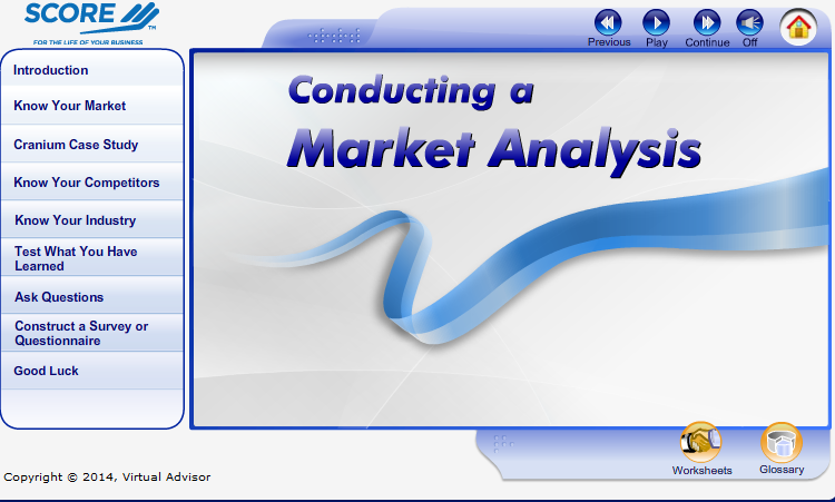 Conducting a Market Analysis