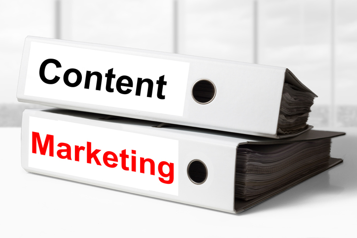 content marketing binders