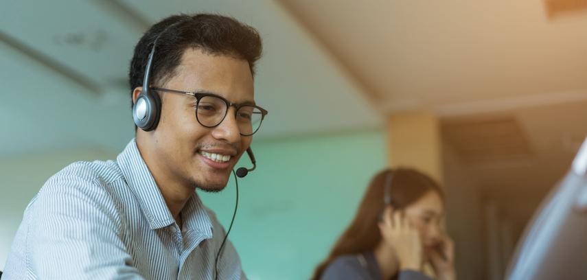 small business customer service representative